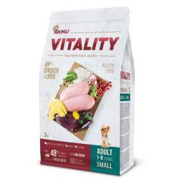 Akinu VITALITY dog adult small chicken & liver 3 kg