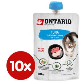 Ontario Kitten Tuna Fresh Meat Paste 10x90 g