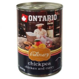 Ontario konz. Culinary Chickpea, Chicken and Curry 6x400 g