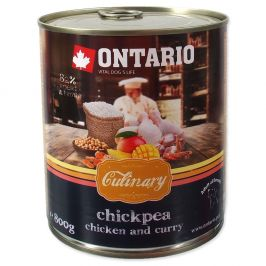 Ontario konz. Culinary Chickpea, Chicken and Curry 6x800 g