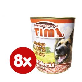 FALCO TIM drůbeží 8x800 g
