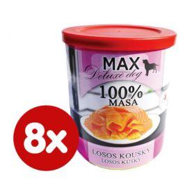 FALCO MAX deluxe losos kousky 8x800 g