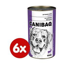 Dibaq CANIBAQ Classic zvěřina 6x1250 g