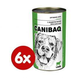 Dibaq CANIBAQ Classic jehněčí 6x1250 g