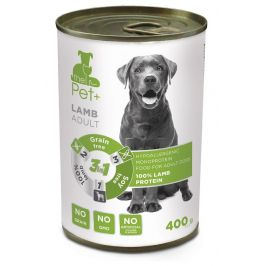 thePet+ dog tin lamb 6x400 g