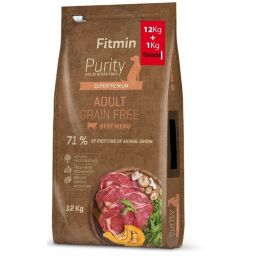 Fitmin dog Purity GF Adult Beef 12 kg + 1 kg