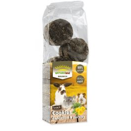 NATURE LAND Brunch sušenky s pampeliškou a petrželí 4x120 g