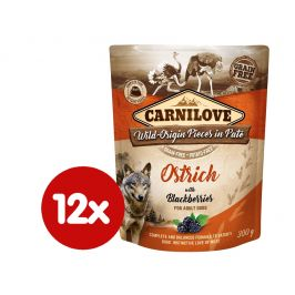 Carnilove Ostrich with Blackberries 12x300 g