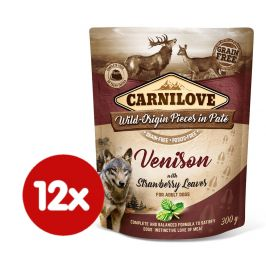 Carnilove Venison with Strawberry Leaves 12x300 g
