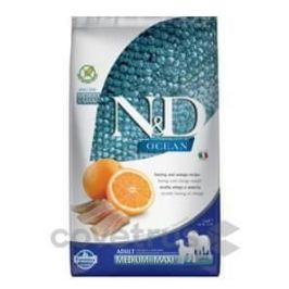 N&D OCEAN DOG Adult M/L Herring & Orange 2,5 kg