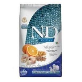 N&D OCEAN DOG LG Adult M/L Codfish & Orange 2,5 kg