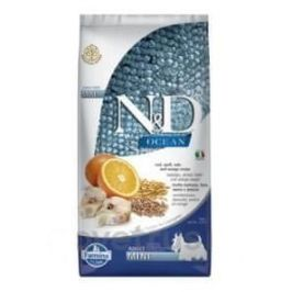N&D OCEAN DOG LG Adult Mini Codfish & Orange 7 kg