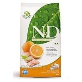 N&D GF DOG Adult Mini Fish & Orange 2,5 kg