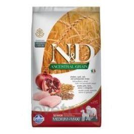 N&D LG DOG Senior M/L Chicken & Pomegr 2,5 kg