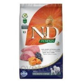 N&D Pumpkin DOG Adult M/L Lamb & Blueberry 2,5 kg