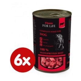Fitmin Dog tin beef 6x400 g