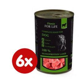 Fitmin Dog tin lamb 6x400 g