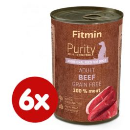 Fitmin Dog Purity tin beef 6x400 g