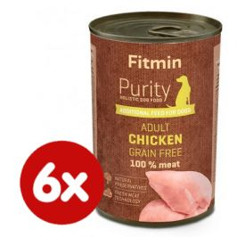 Fitmin Dog Purity tin chicken with liver 6x400 g