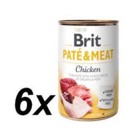 Brit Paté & Meat Chicken 6 x 400g