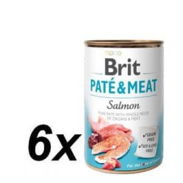 Brit Paté & Meat Salmon 6 x 400g