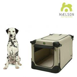 Maelson Přepravka Soft Kennel černá / béžová vel. 82 - rozbaleno