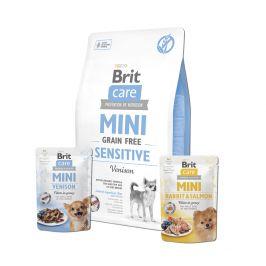 Brit Care Mini Grain Free Sensitive 2 kg + 2x pouch 85g