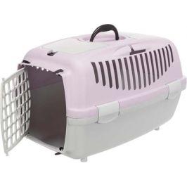 Trixie Transportní box CAPRI 2 XS-S 37 x 34 x 55 cm, světle šedá/světlá lila