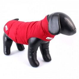 Doodlebone Oboustranná zimní bunda Red/Grey vel. XS