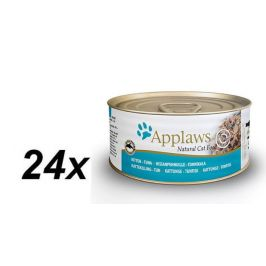 Applaws Konzerva Kitten jemný Tuňák pro koťata 24 x 70g