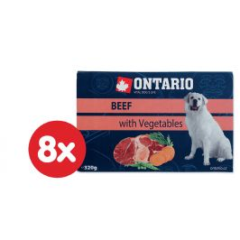Ontario Vanička Beef with vegetable 8 x 320g