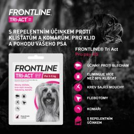 Merial Frontline TRI-ACT spot on Dog XS 0,5 ml