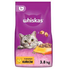 Whiskas granule s kuřecím masem 3,8 kg