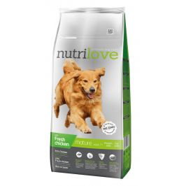 Nutrilove Dog Senior Fresh Chicken 12kg