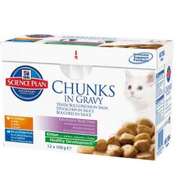 Hill's Multipack Feline Kitten Chicken&Fish 12 x 85 g