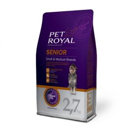 Pet Royal Senior Dog Small and Medium Breed 2,7 kg