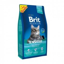 Brit Premium Cat Sensitive 8 + 1,5 kg Zdarma