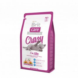Brit Care Cat Crazy I´m Kitten - 7 kg