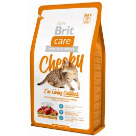 Brit Care Cat Cheeky I´m Living Outdoor 2 kg