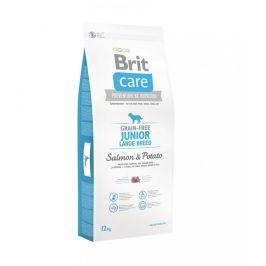 Brit Care Grain-free Junior Large Breed Salmon & Potato 12kg