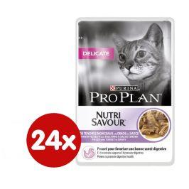 Purina Pro Plan CAT DELICATE Krůta kapsička 24x85g