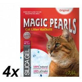 Magic kočkolit Magic Pearl Original 4 x 7,6 L