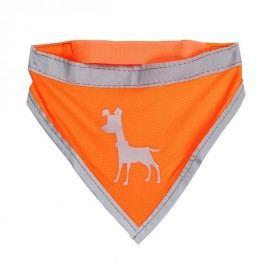 Alcott Neonově oranžový šátek s reflexními prvky vel. S