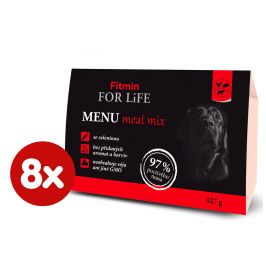 Fitmin For Life dog MENU meat mix 8 x 427g