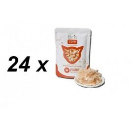 Brit Care Cat kapsa Chicken & Cheese Pouch 24 x 80g