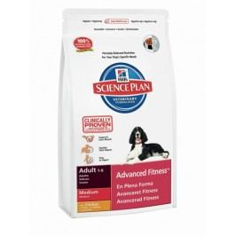 Hill's Canine Adult Advanced Fitness Chicken Medium 12 kg