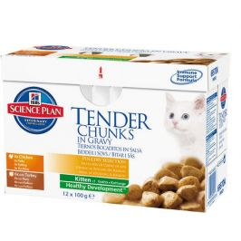 Hill's Mutlipack Kitten Chicken+Turkey 12 x 85g