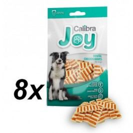 Calibra Joy Dog Dental Chicken Waves 8 x 80 g
