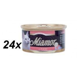 Finnern Paštika Miamor losos 24 x 85 g