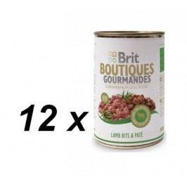 Brit Gourmandes  Lamb Bits&Paté 12 x 400g